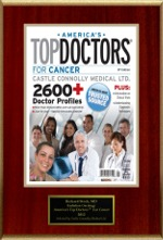 America's Top Doctor                                                                for Cancer 2012