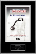 Castle Connolly:                                                                Top Doctor 2012